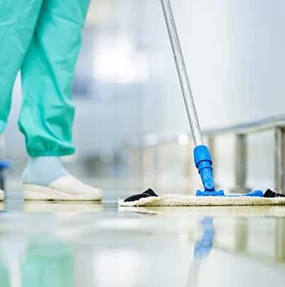 Organisation du nettoyage en établissement de soins