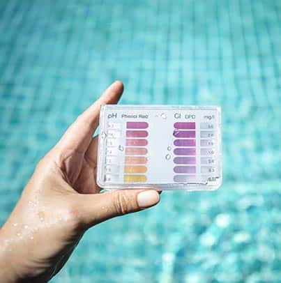 Surveillance des eaux de piscines